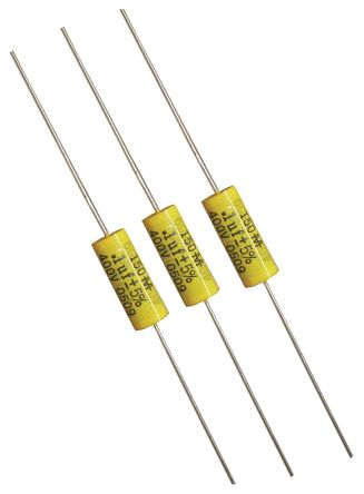 Cornell-Dubilier 470nF Polyester Capacitor PET 250V dc ±5% 150 Series