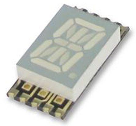 CC Red 36 mcd RH DP 10.2mm Kingbright KCPSC04-105 14-Segment LED Display