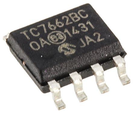 Microchip TC7662BCOA, Inverting DC-DC Converter, 20mA 8-Pin, SOIC