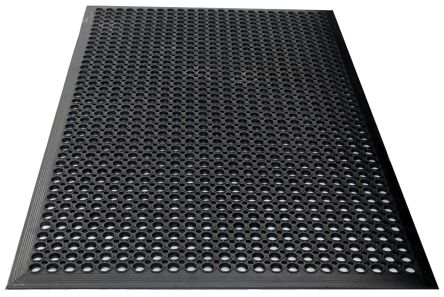 COBA Rampmat Individual Rubber Anti-Fatigue Mat x 800mm, 1.2m x 10mm