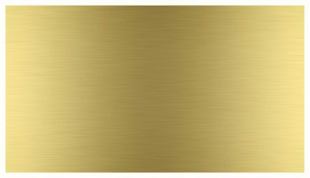 Brass Sheet, 600mm x 300mm x 1.2mm 300 → 550 MPa