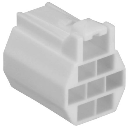 DF62C-6S-2.2C(18) - Female Connector Housing - DF62, 2.2mm Pitch, 6 Way product photo