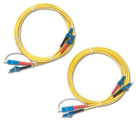 Fluke Networks NFK3-DPLX-LC, Fibre Optic Test Equipment Patch Cord for LC Adapter