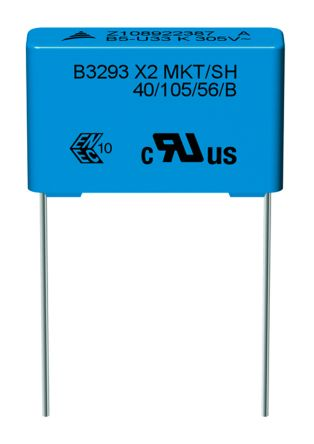 B32932a3683k000 Epcos 68nf Polyester Capacitor Pet 305v Ac 10