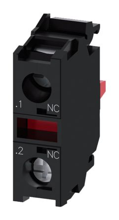 Bloque de contactos Siemens 3SU1400-1AA10-1CA0, 1 NC, terminal Roscado