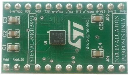 STMicroelectronics STEVAL-MKI159V1, iNEMO Inertial Module Inertial Measurement Unit (IMU) - 6 DoF Adapter Board for