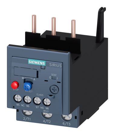 Siemens Overload Relay NO/NC (Auxiliary), 45 A, 45 A