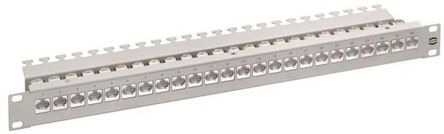 Harting Ha-VIS preLink Series Cat6a 24 Port RJ45 RJ Patch Panel 1U
