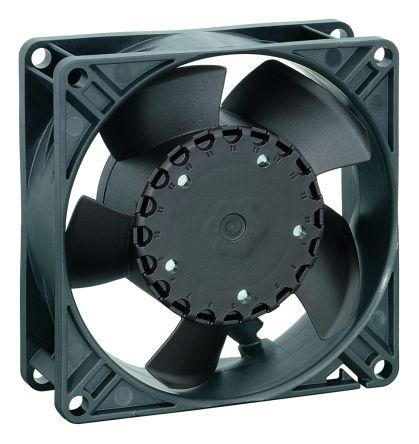 DC Axial Fan, 92 x 92 x 32mm, 80m³/h, 1.8W, 48 V dc (3300N Series)
