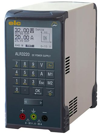Bench Power Supply ALR3220 Digital 640W, 1 Output 0 -> 30V 20A With UKAS Calibration product photo