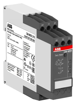 ABB Temperature Monitoring Relay with SPDT Contacts, 24 → 240 V ac/dc