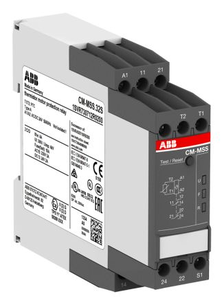 ABB Temperature Monitoring Relay with DPDT Contacts, 24 V ac/dc