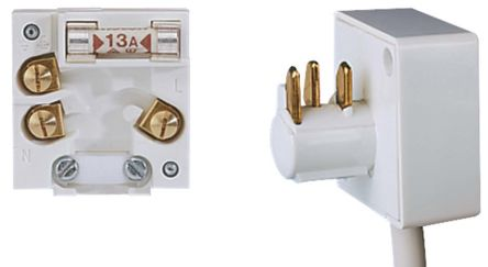 Wall Outlets Outlets & Accessories LEGRAND ELECTRAK 13A Double UNSWITCHED Socket Non Standard Computer ELECTROINC Safe Socket