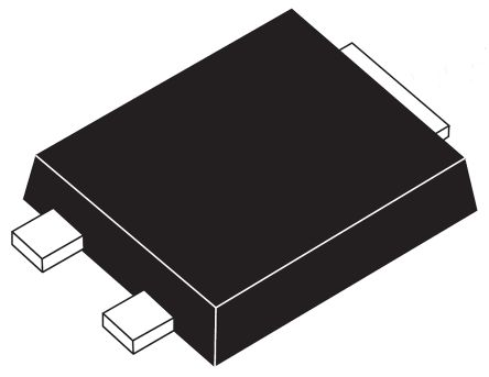 ACS108-8SUN-TR 0.8A, 800V, TRIAC, Gate Trigger 1V 10mA, 3-pin, Surface Mount, SMBflat product photo