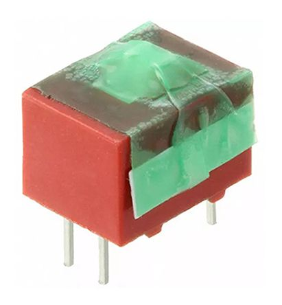 1 Way Through Hole DIP Switch 2PST product photo