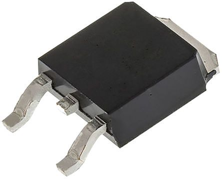 ACST410-8BTR 4A, 800V, TRIAC, Gate Trigger 1V 10mA, 3-pin, Surface Mount, DPAK (TO-252) product photo