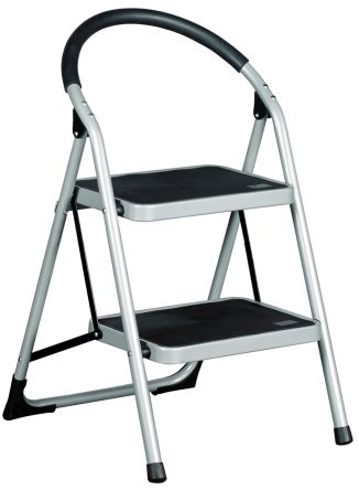 Step Ladders, Foldable, 2 Tread,