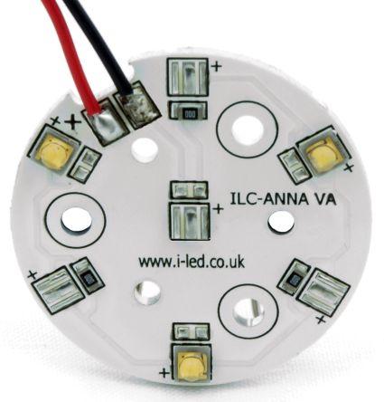 ILS ILC-ONA3-HYRE-SC211-WIR200., OSLON 80 PowerAnna Coin Circular LED Array, 3 Red LED