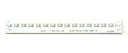 Intelligent LED Solutions Blue LED Strip 150mm, ILS-P516-0150-DEBL-SC201.
