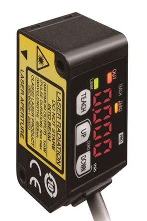 Background Suppression Distance Sensor 100 mm Detection Range NPN IP67 Block Style HG-C1100 product photo