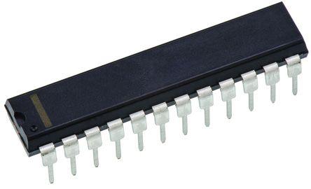 Analog Devices AD7569BNZ Analogue IO System, 8 bit, 200kHz, 4μs, 24-Pin PDIP