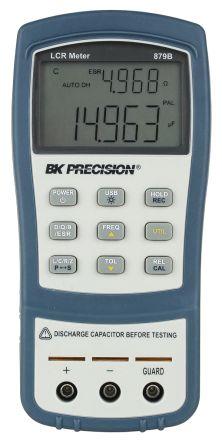 BK Precision BK879B Handheld LCR Meter 20mF, 10 MO, 1000H With RS Calibration