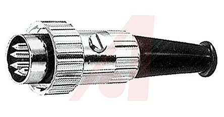 Switchcraft 05CL Series, 5 Pole Din Plug, 3A, 34 V dc, 30° Turn Lock