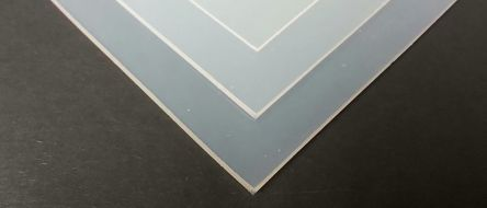 Translucent Silicone Rubber Sheet, 600mm x 600mm x 3mm
