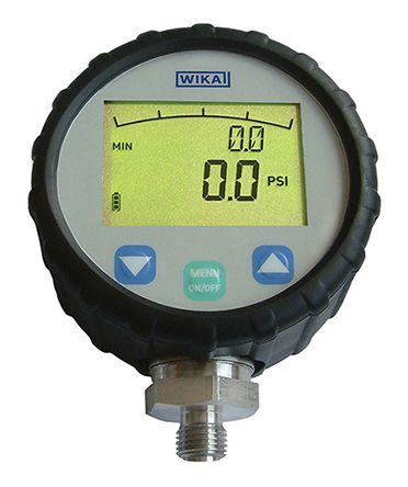 WIKA Bottom Entry Digital Pressure Gauge, DG-10-E