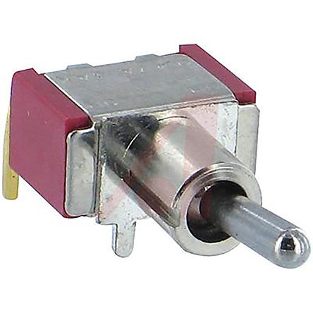 Carling Technologies Single Pole Single Throw (SPST) Toggle Switch,  Latching, Panel Mount