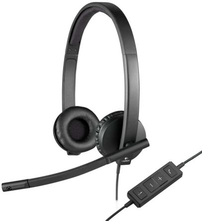 Logitech H570e Stereo USB PC Headset