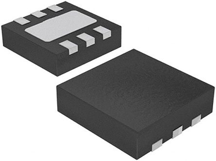 STMicroelectronics, 0.8 → 4.5 V Linear Voltage Regulator, 1A, 1-Channel, Adjustable, ±2% 6-Pin, DFN LD39100PUR