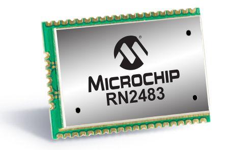 Microchip RN2483-I/RM101 3.6V LoRa Module, LoRaWAN™ Class A UART