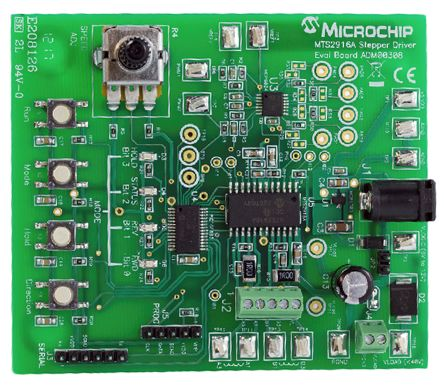Microchip Motor Driver for MTS2916A Evaluation Board
