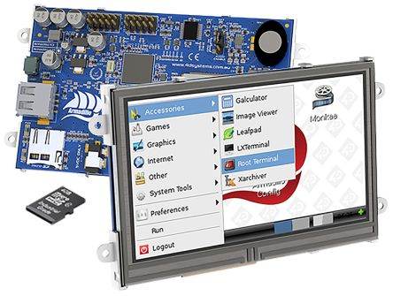Armadillo SBC + 4.3in Touch Display Kit