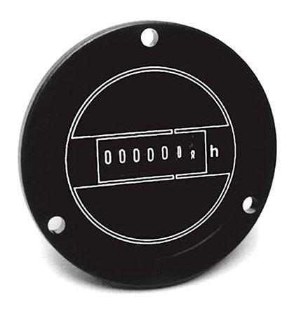 Grasslin Hour Counter, 7 digits, Digital, Screw & Spade Clamp Connection,  Voltage, 240 V ac