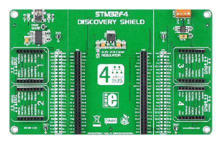 MikroElektronika Discovery Shield with STM32 - MIKROE-1481