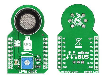 8829004  MikroElektronika LPG click 附加板 气体传感器