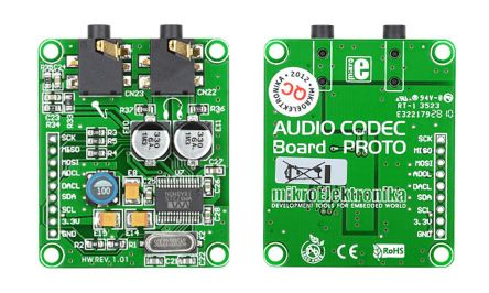 Audio CODEC (WM8731) Proto Board