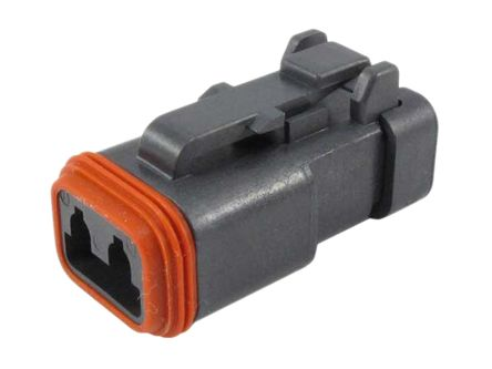 Astounding Dt062S Ce05 Deutsch Dt06 Dt Series Male 2 Way Connector Assembly Wiring Cloud Nuvitbieswglorg