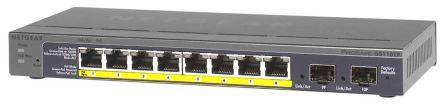 Netgear, 10 port Smart Ethernet Switch, Rack Mount PoE