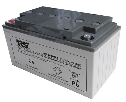 RS 12v 65Ah Gel Lead Acid Battery