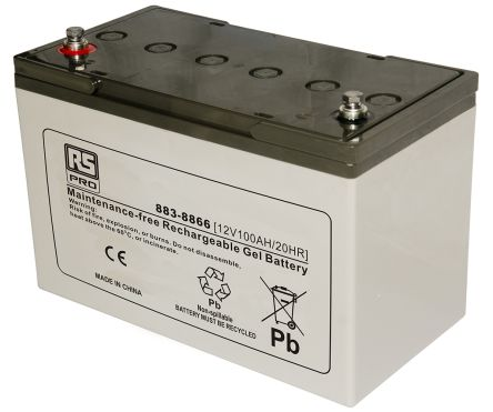 np2 12 np2 12 lead acid battery 12v 2ah rs components. Black Bedroom Furniture Sets. Home Design Ideas
