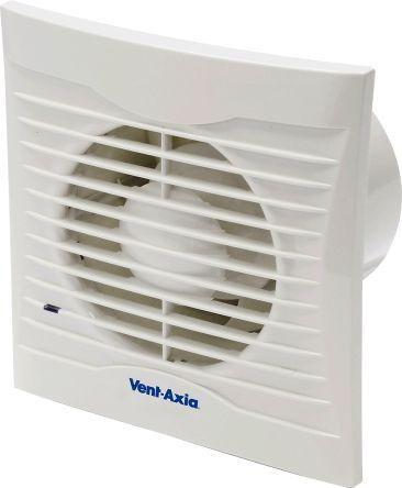 Vent-Axia Silhouette 系列 75m³/h 抽风风扇, 天花板安装、面板安装、壁装, 用于抽气