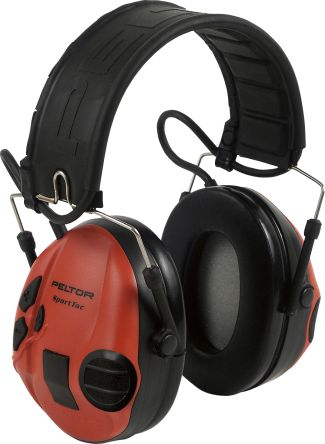3M PELTOR SportTac Listen Only Communication Ear Defender, 26dB