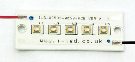 ILS-XN05-S400-0058-SC211-W2. Intelligent LED Solutions, N3535 UV PowerLinear Series 5 UV LED Array, 410nm 2000mW 55 °