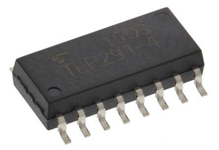Transoptor TLP292-4GB,ET z fototranzystorem 1-kanałowy AC SO16 16 Toshiba 10