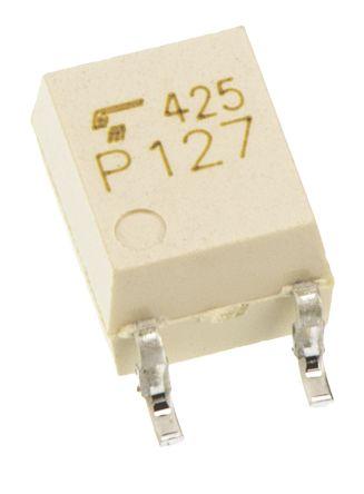 Photocoupler, MOSFET, 1a, 4pin SO6