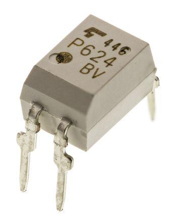 Photocoupler, MOSFET, 1a, DIP4