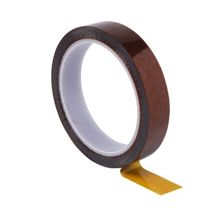 Amber Electrical Tape, 12mm x 33m product photo